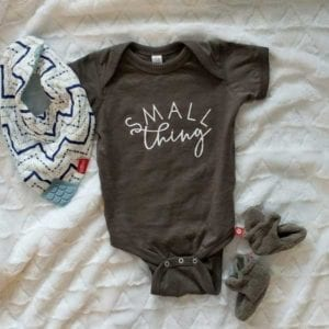 infant onesie bodysuit | Catholic baby