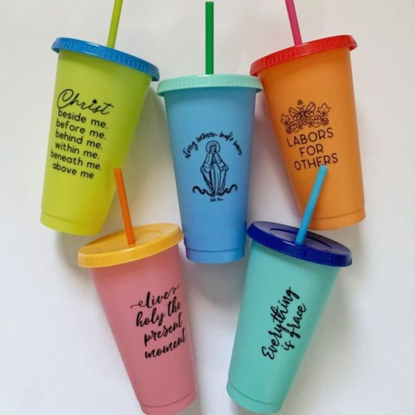 Catholic Color Changing Cups