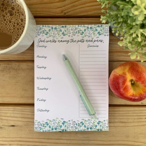 Catholic Pots and Pans Meal Planner