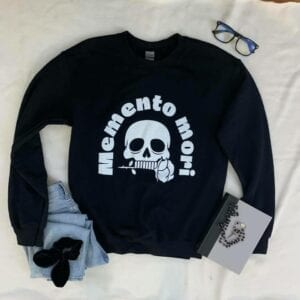 Catholic sweatshirt | Memento Mori