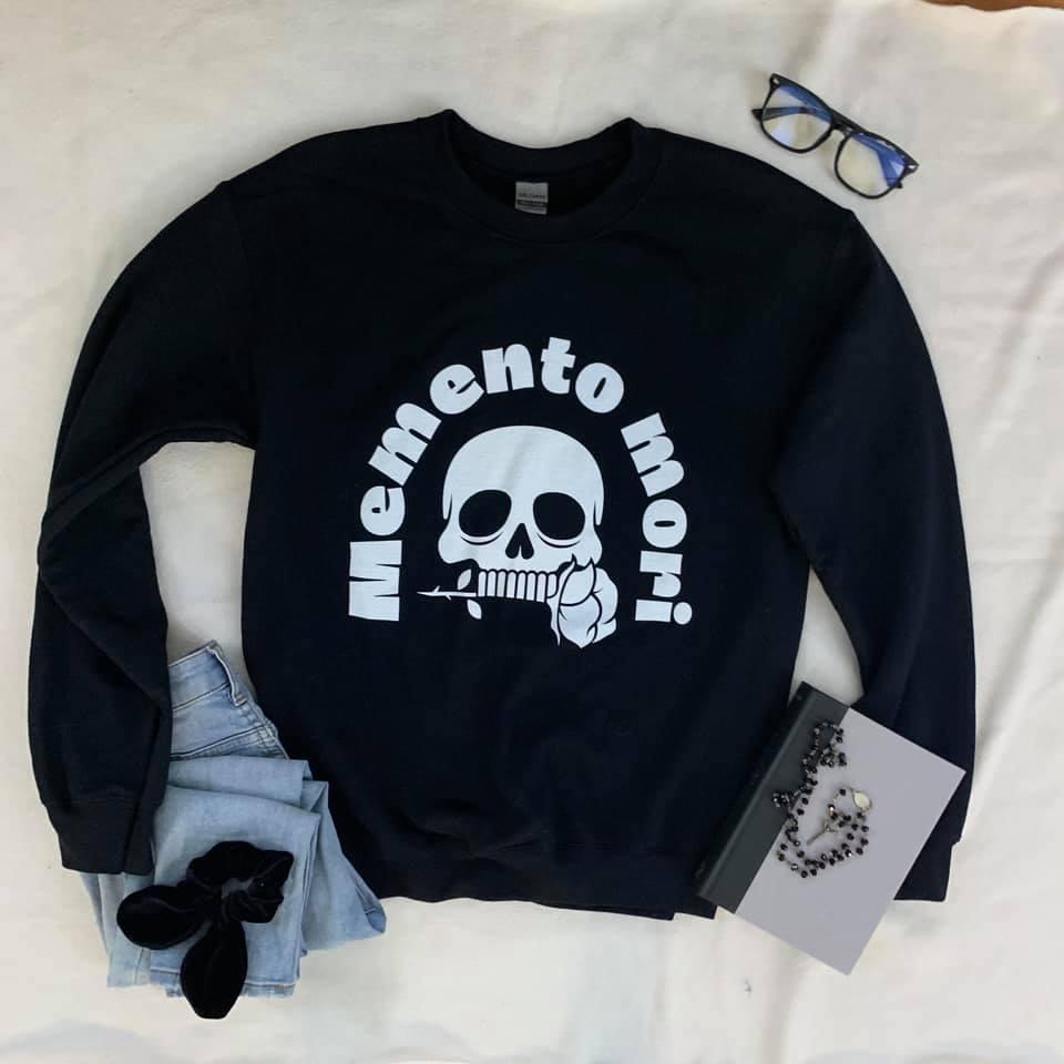 Memento Mori Catholic T-shirt