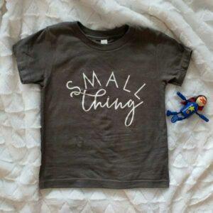 Toddler's Short Sleeve Grey T-Shirt
